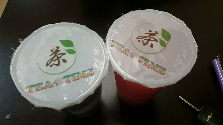 TARO MiLK TEA & STRAWBERRY CALPiCO💕