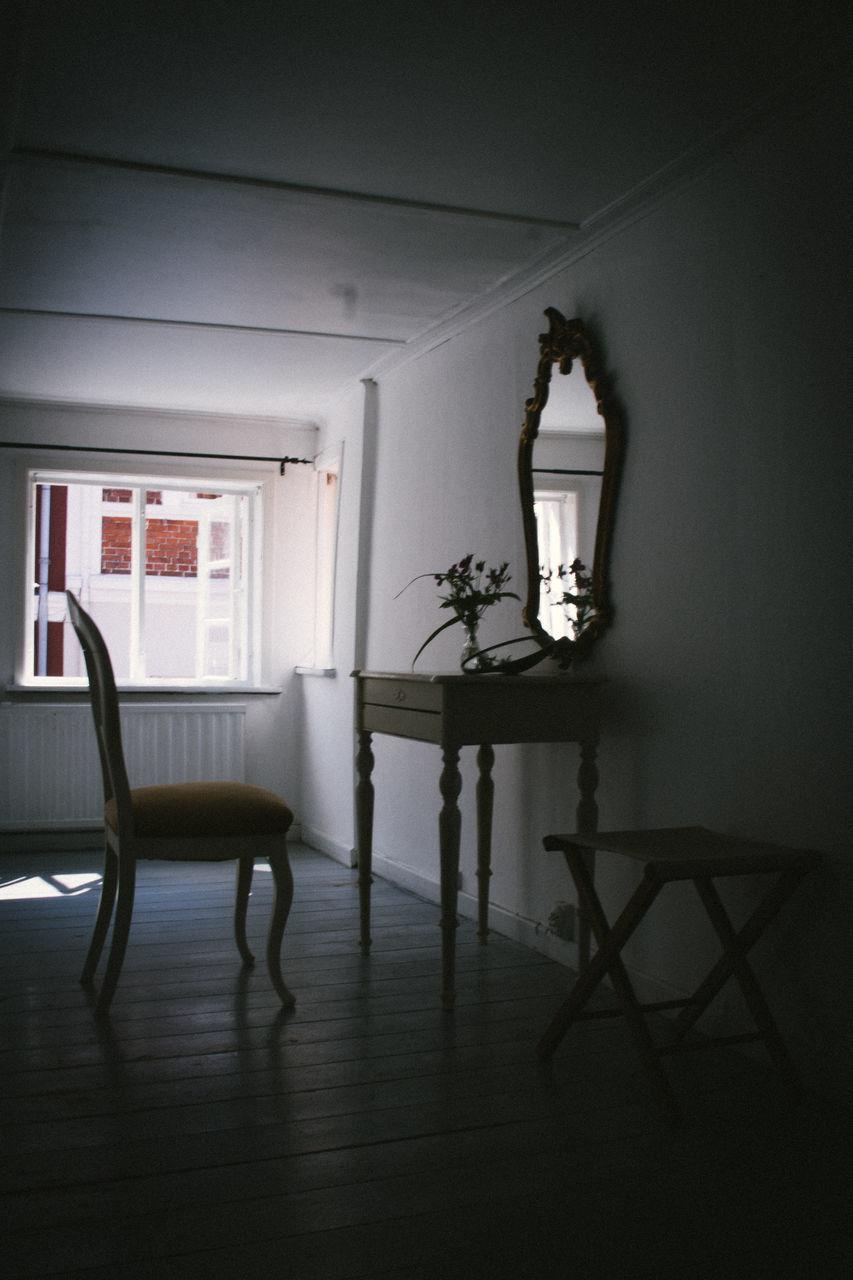 indoors, chair, home interior, full length, real people, day