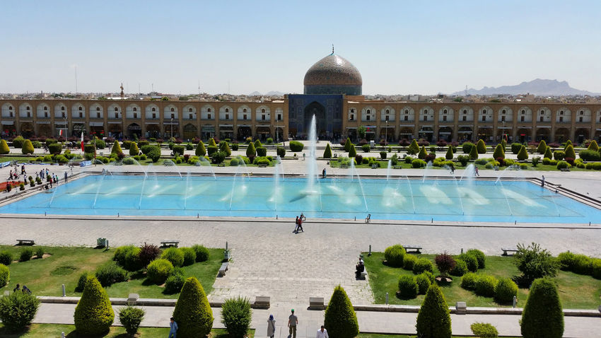 Architecture Attraktion Historical Sights Historische Plätze Iran Isfahan Naghshe Jahan Square Tourist Attraction
