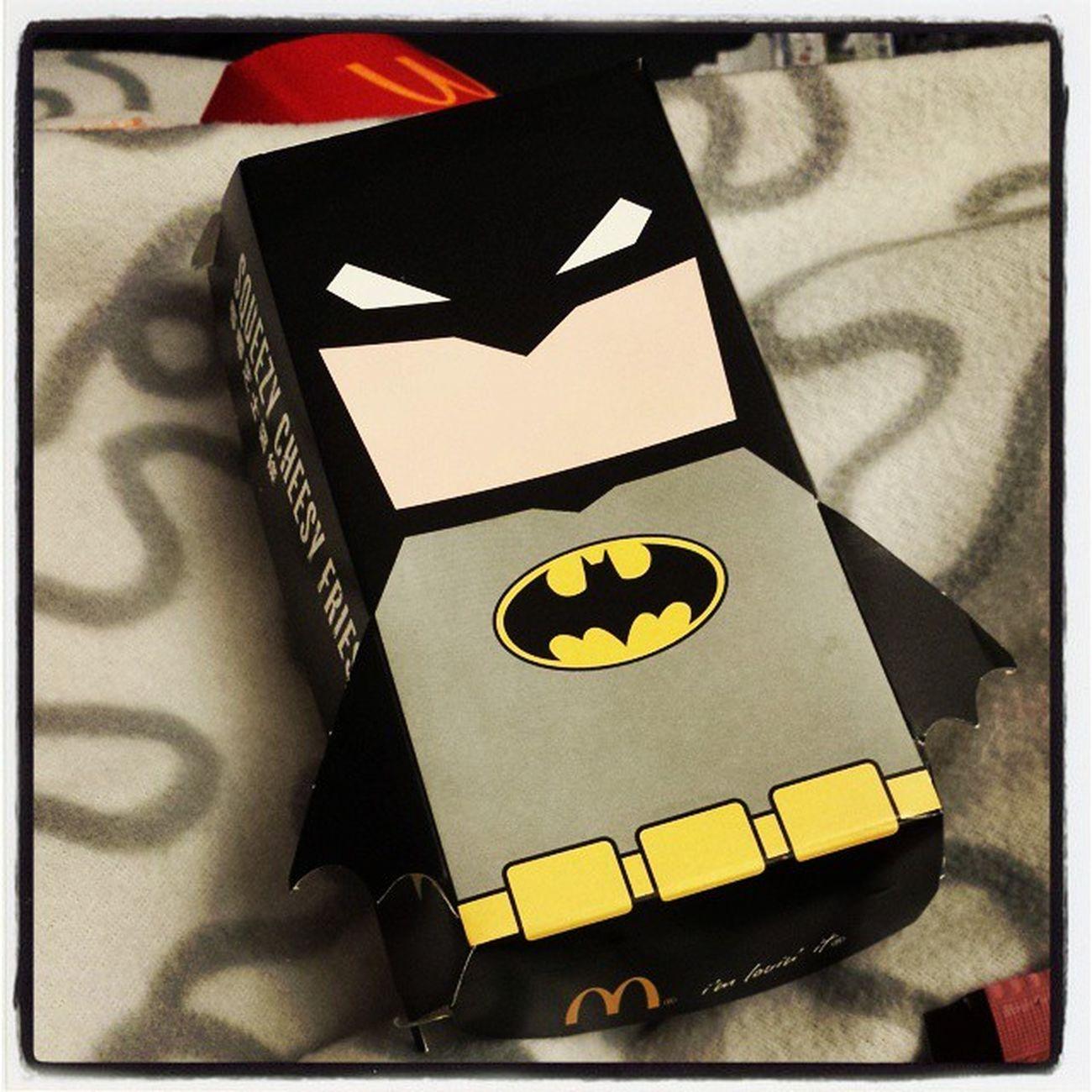 Mcdonalds Batmanmcdonalds Superhero Ithasacape HongKong Fastfood