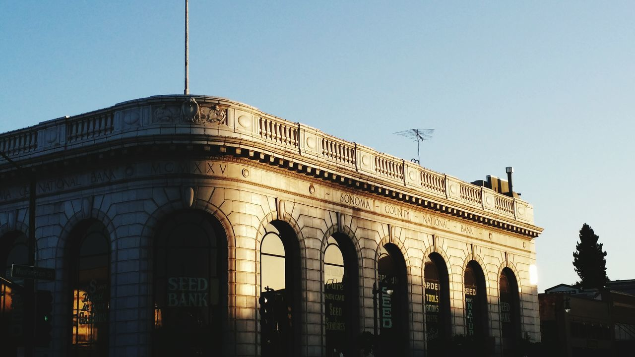 Former financial bank transformed into a seedbank in petaluma, california. The Architect -2015 EyeEm Awards