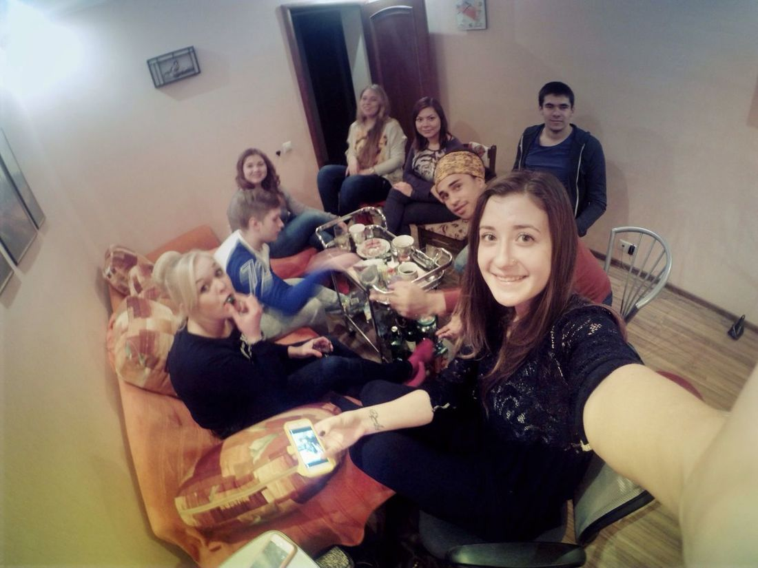 Party Friends Relaxing Gopro