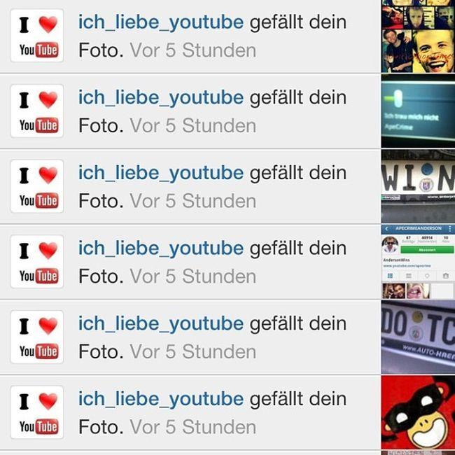 Likerdestages :D *-* wohaaaah danke dir und folgen !!! @ich_liebe_youtube @ich_liebe_youtube