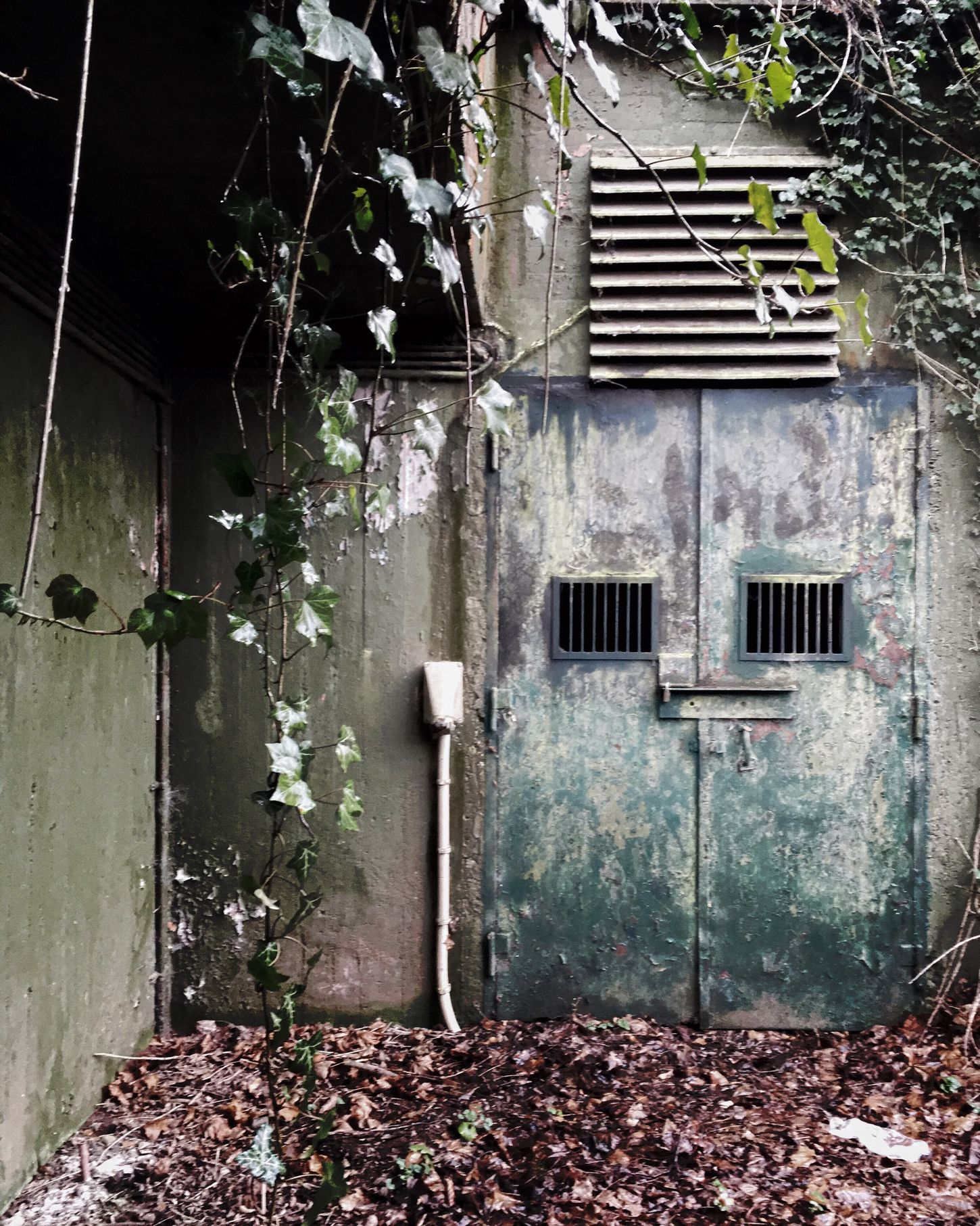 Bunker in the west of germany Bunker Leftplace Germany Nature Awesome