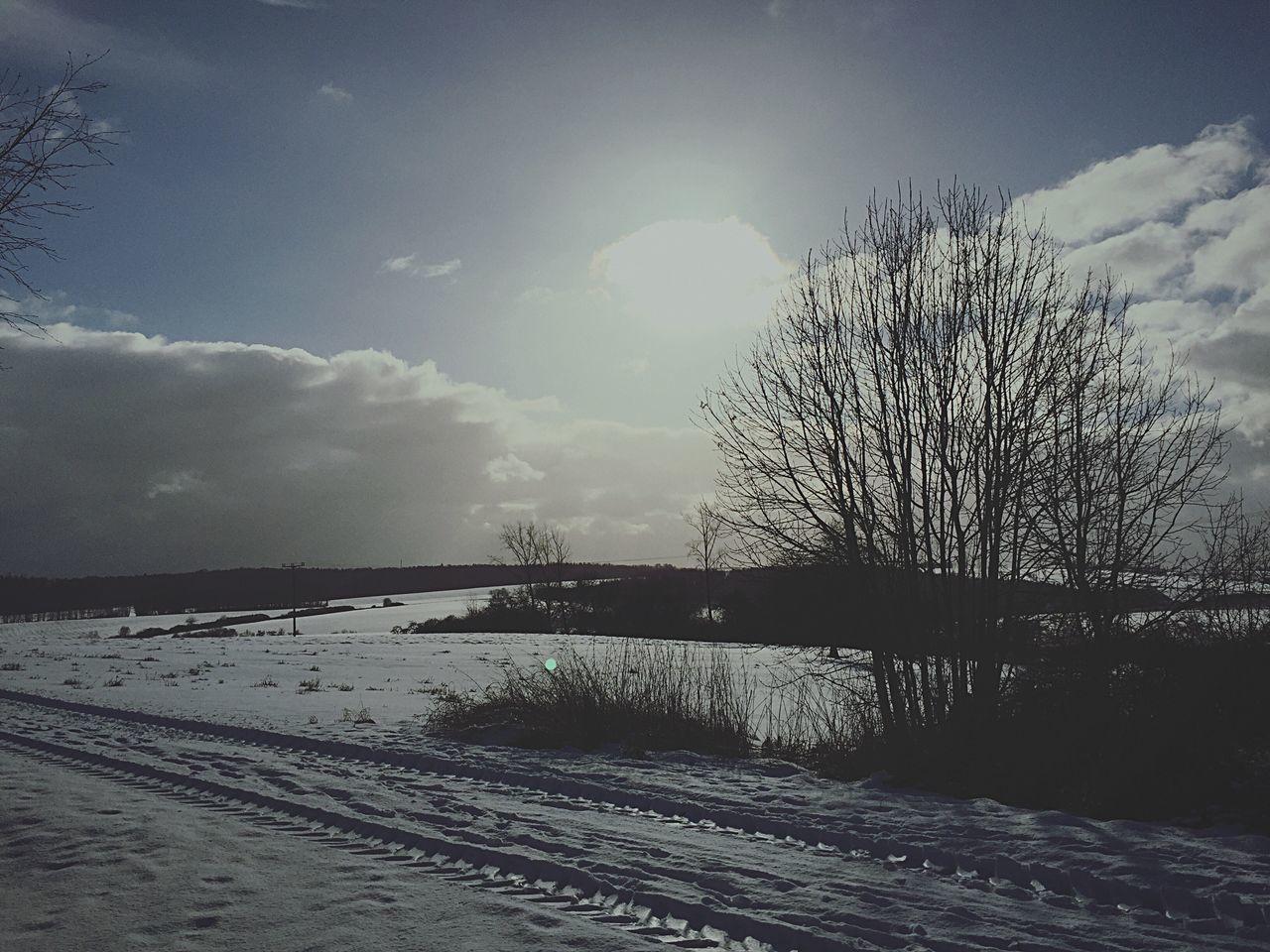Winter Wonderland Snow ❄ Sun ☀ Atwork Saturday Yesterday