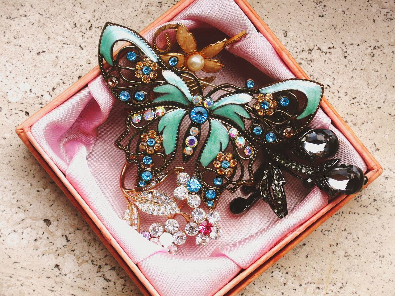 Brooches Accesories Girlstuff  Mycollection Butterfly Colorful