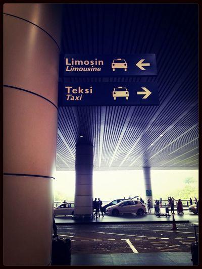 International Airport Enjoying Life Relaxing Waiting Plane