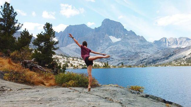 Dancer Garnet Lake Ansel Adams