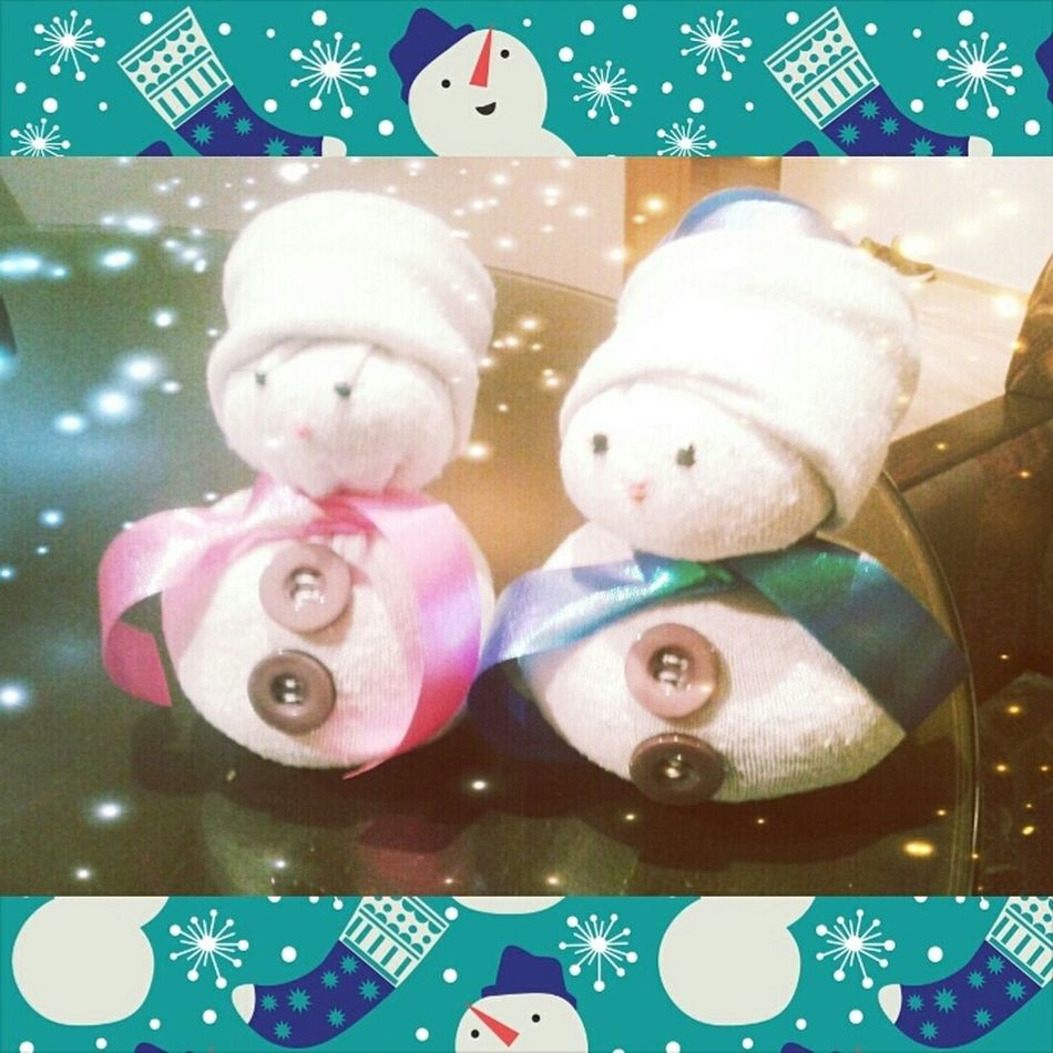 DIY Snowman Do You Wanna Build A Snowman? For My Childen Ma Petite Soeur <3 Creative Je Ne Sais Pas Quoi Faire De Mes 10 Doigts Enjoying Life