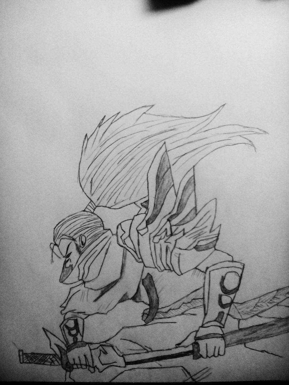 Art, Drawing, Creativity Pencil Drawing Yasuo League Of Legends