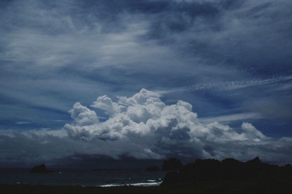 夏雲… Seascape Nature Photography いつもの場所 いつもの海 Beach View Sky_collection EyeEm Nature Lover Landscape Sky And Clouds