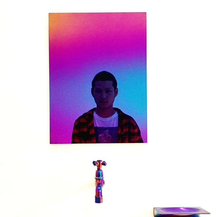 One Person One Man Only Studio Shot Young Adult Multi Colored People Real People Only Men Technology Portrait One Young Man Only Adult Adults Only Day Art Installation Art Is Everywhere Art Saves Ilusions