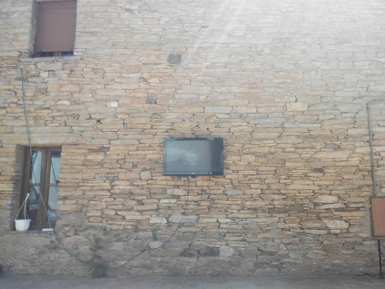 Camino CaminodeSantiago El Camino De Santiago Fenster Und Türen Jakobsweg Pattern Stone Wall Textured  Tv Wall Way Of Saint James