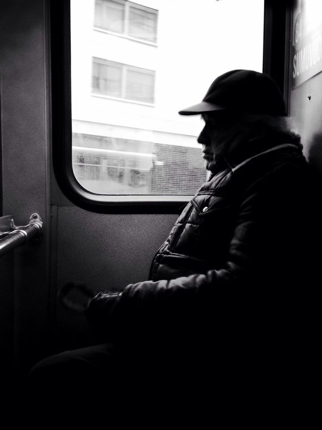 Commuter. Streetphotography AMPt_community Blackandwhite Streetphoto_bw Silhouette