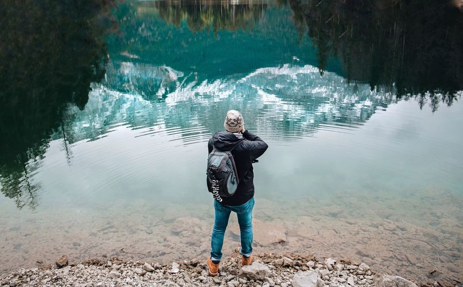 Finding New Frontiers Water Camera - Photographic Equipment Beauty In Nature Rock - Object Nature Lifestyles TheWeekOnEyeEM
