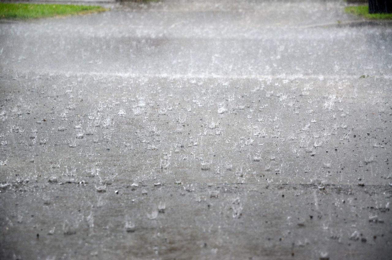 Heavy Rain Splash