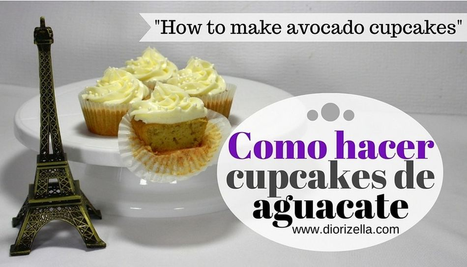 New video and blog post. // Nuevo video y blog post. Avocado Cupcake Cake Puerto Rico Puerto Rico ♥ Food And Drink Food Porn Bizcochuelo Diorizellaec