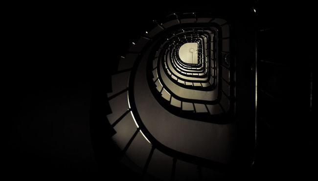 There's room at the top they are telling you still 🎼🎼🎼My stairwell to the room I stayed in while in Paris. Best Of Stairways Stairs Stairways Chiaroscuro  Paris Rue Saint Antoine My Best Photo 2015