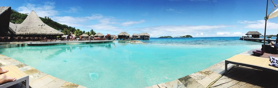 Beautiful stock photos of bora bora, Beauty In Nature, Blue, Day, French Polynesia