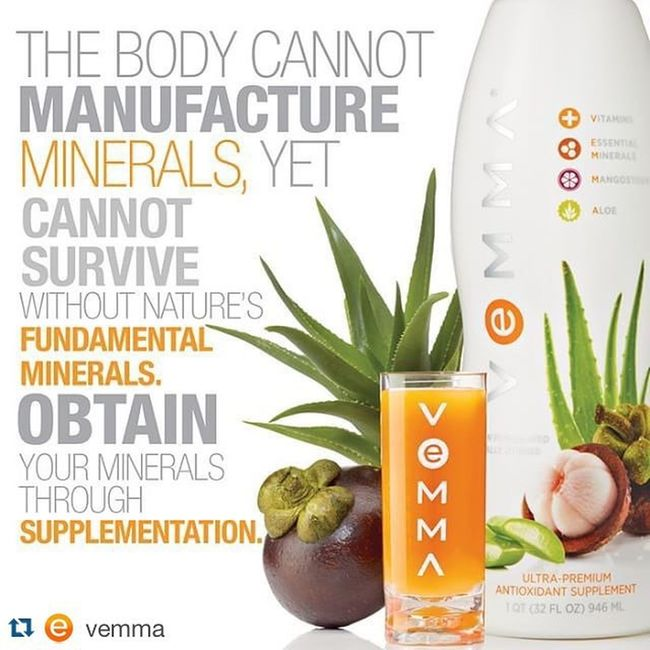 Did you know... Vemma  includes over 65 major, trace and ultra-trace, plant-sourced minerals. Grab one and start your day! Healthy Salud Lifestyle Success Info: +57 3172151135 srobinss.vemma.com