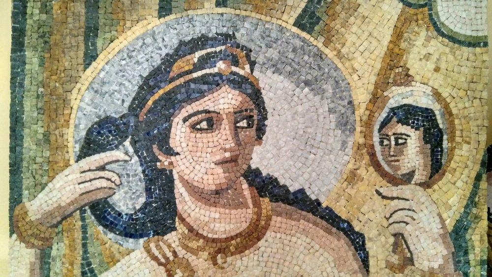 Mérida, Spain Mosaicartist Mosaic Tiles Afrodite Afrodita