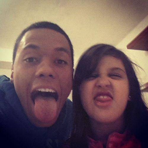 We're crazy, so crazy!!! Hahhaha Palominhaaa Sobrinhafera Resenha