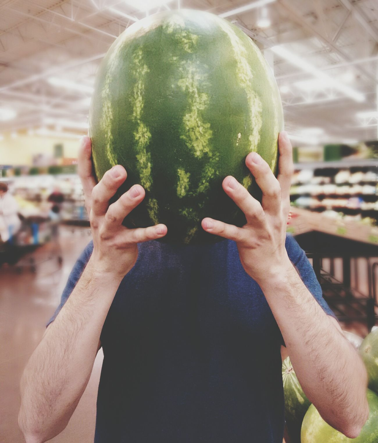 Melonhead Market Melon HEAD First Eyeem Photo Project Watermelon Art Share Mister Water