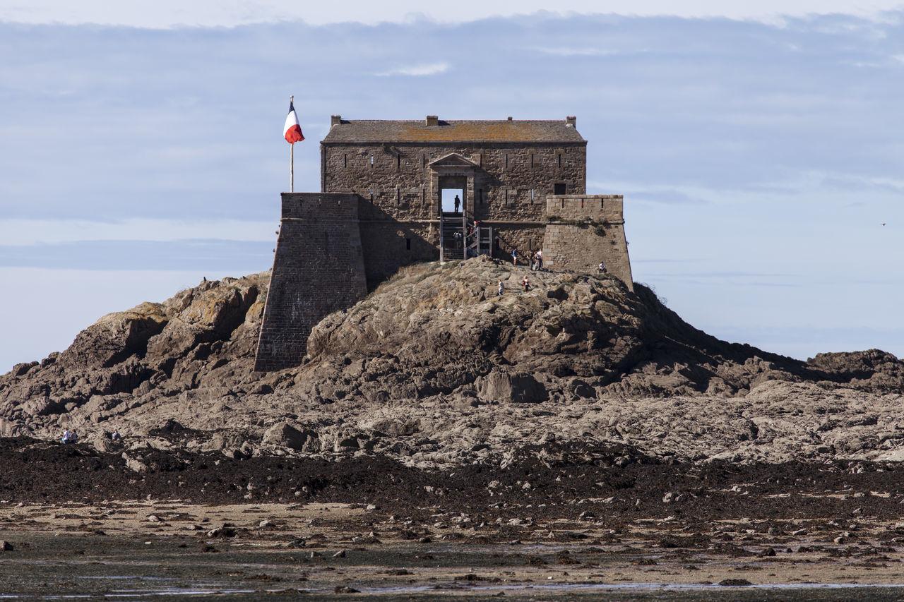 Beach Fort Mer Militaire Military Plage Saint-Malo Saint-Malo Beach France Saint-Malo France Sea