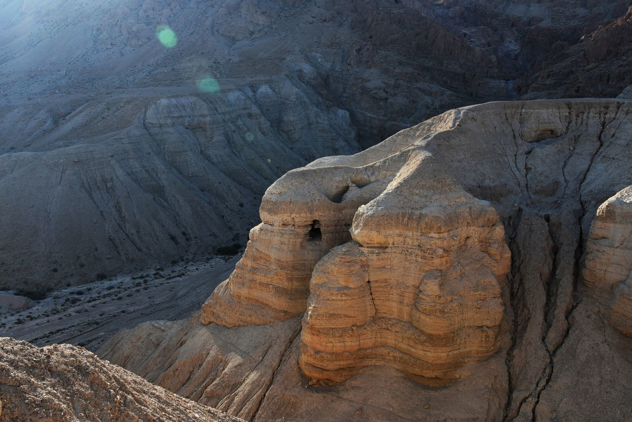 The Canyon where the Deadsea scrolls were found, in Israel. Backgrounds Beauty In Nature Canyon Close-up Day Deadsea Deadsea_israel Deadseascrolls Geology Israel Landscape Nature No People Outdoors Sand
