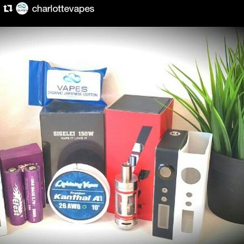 Repost @charlottevapes ・・・ Giveaway time! Charlotte Vapes is hosting a Memorial Day sale May 22-25 and one of our featured bundle deals is the Ultimate Sigelei setup. We want to giveaway one of these great packages! The Ultimate Sigelei setup includes a 150w Sigelei, an Atlantis or Kanger Subtank, 2 Efest batteries, a Soda Charger, & a 15ml bottle of Seducejuice ! Enter to win: 1. Repost this flyer & be sure to include the content below the flyer so your Vapefriends can participate 2. Follow @charlottevapes & @seducejuice 3. Tag your vape buddies in the comments Contest ends this Memorial Day - May 25th. Good luck everyone! Charlottevapes SIGELEI Qcvapers Vapegiveaway Queencity NASCAR Charlottemotorspeedway Race Allstarrace JimmieJohnson VapeShop Vape
