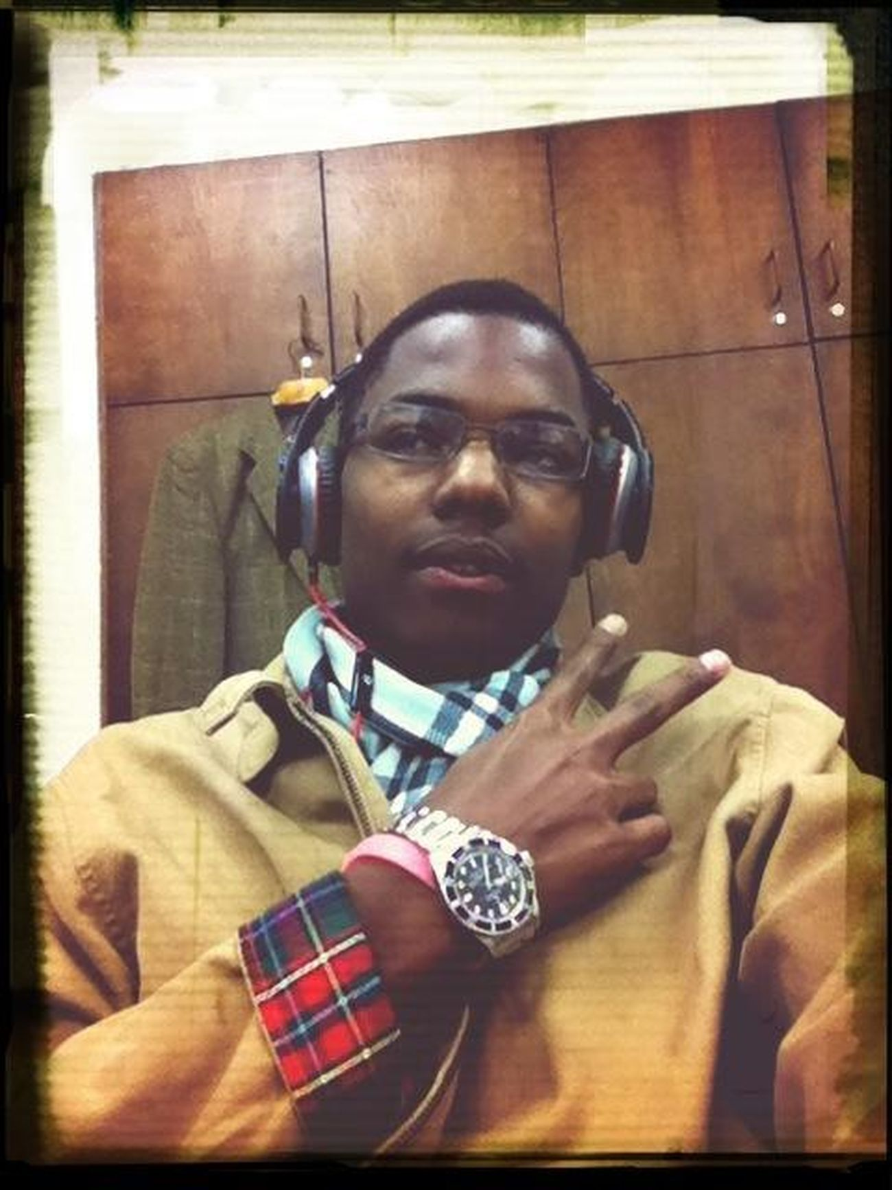Straight Flexin Rolex Burberry