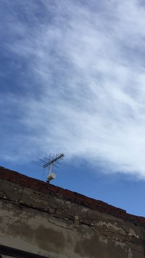 Broadcasting Animal Themes Antenna - Aerial Architecture Bird Built Structure Cloud - Sky Day Low Angle View Nature No People Outdoors Silhouette Sky