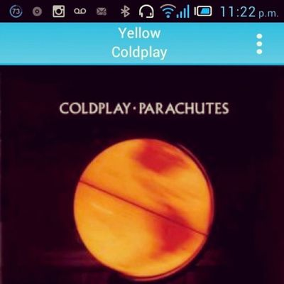 Yellow @Coldplay Aggdashfghajabtcan! MTVHottest Coldplay