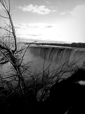 Taking Photos at Niagara Falls (Canadian Side) by Atiq