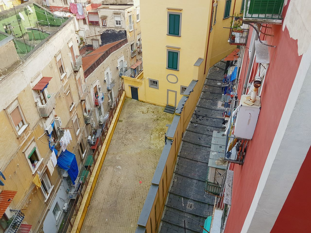 Not all who wander are lost.... seen in Naples, Italy Building Exterior Architecture High Angle View Travel Destinations Outdoors Built Structure Day City Large Group Of People People Adult Adults Only Naples, Italy Naples Colorful