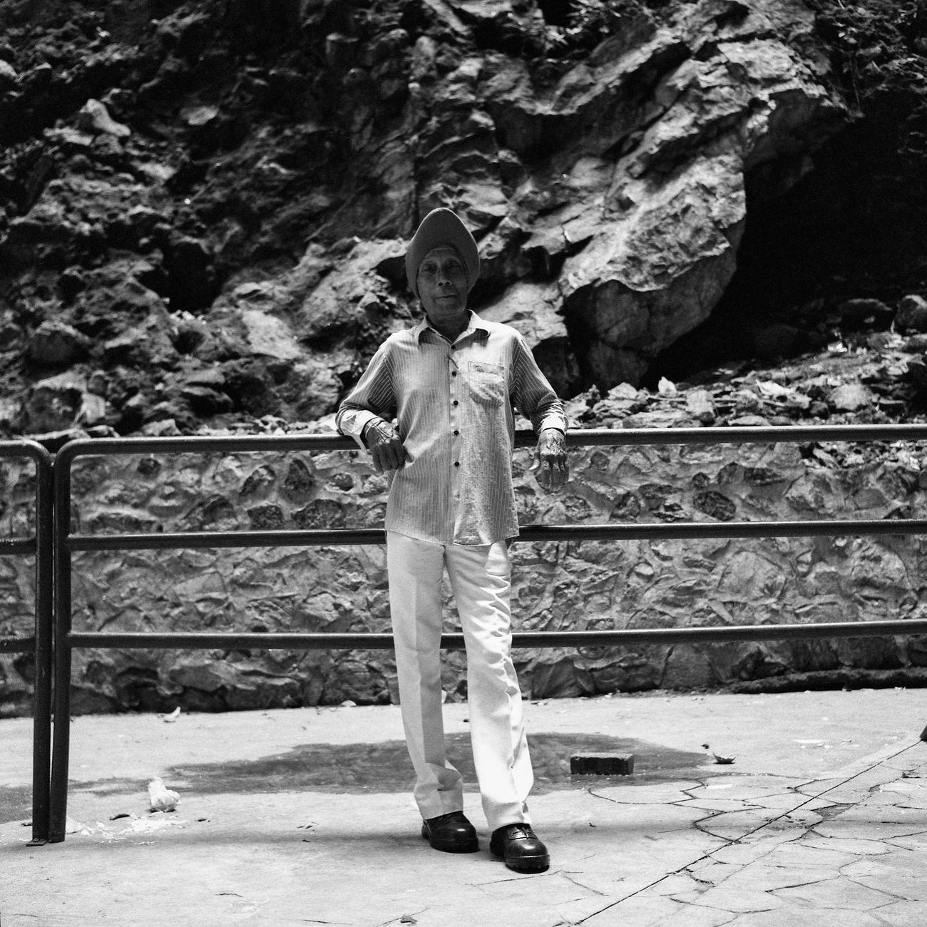 Batu Caves on film 003 Taken with the Rolleiflex Outdoors EyeEmMalaysia People Of EyeEm Black And White Filmisnotdead Rolleiflex Blackandwhite Black And White Photography Filmphotography Believeinfilm Streetphotography Street Photography Streetphoto_bw Thaipusam Thaipusam 2017 Ishootfilm People Real People