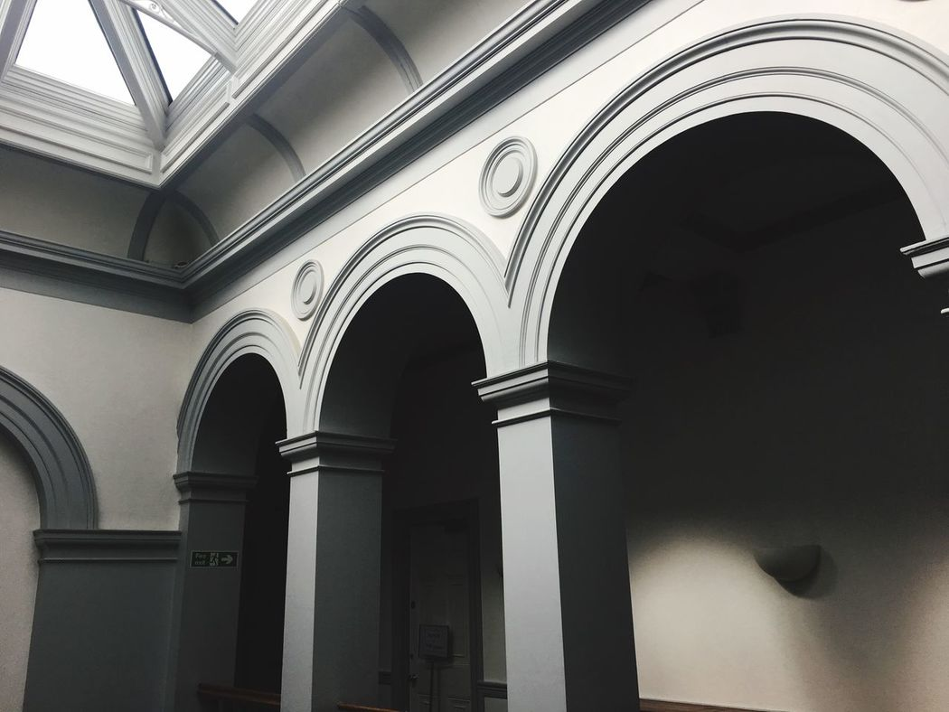 EyeEm Selects Arch Architecture Indoors  No People Built Structure Old Buildings Morpeth Town Hall Civic Building