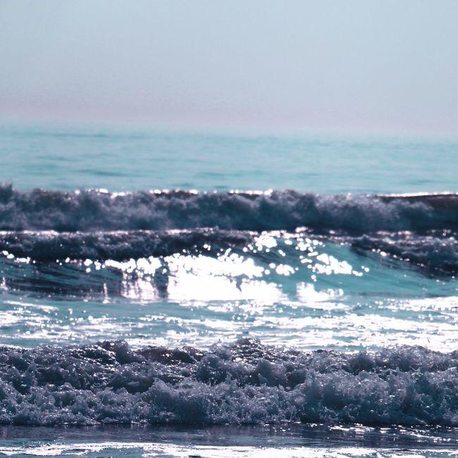 Enjoy The Blue Blue Sea Bea Leagn Wave