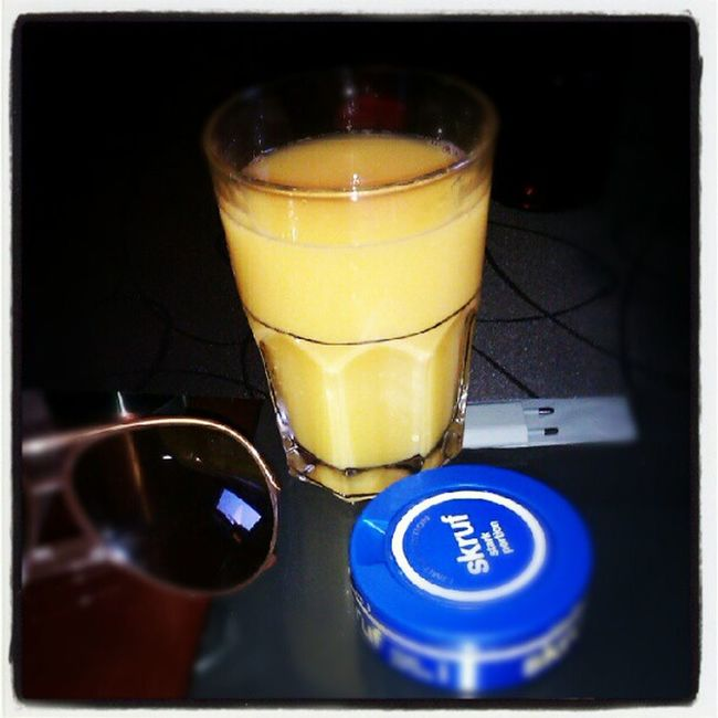 Here We go again! Bacardi  Orangejuice Afterwork GoJävla