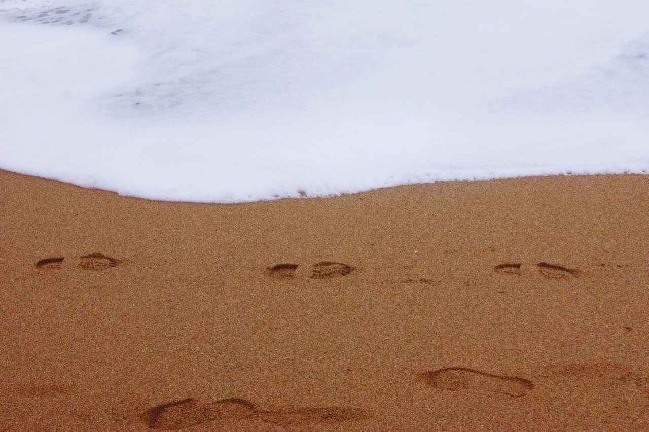 Beautiful stock photos of sand, Beach, Brown, Day, Footprint