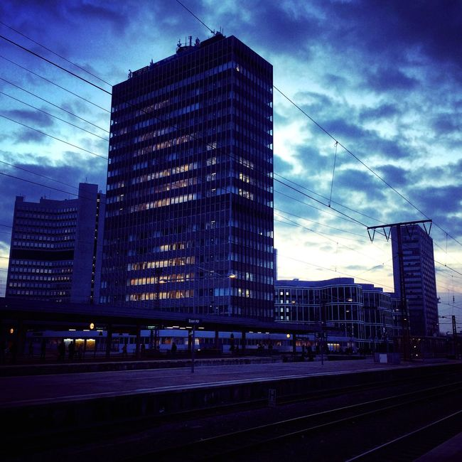 Evening mood in Essen First Eyeem Photo Domestic Terminal