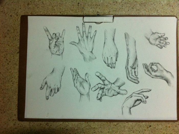 Today :) Drawing Hand