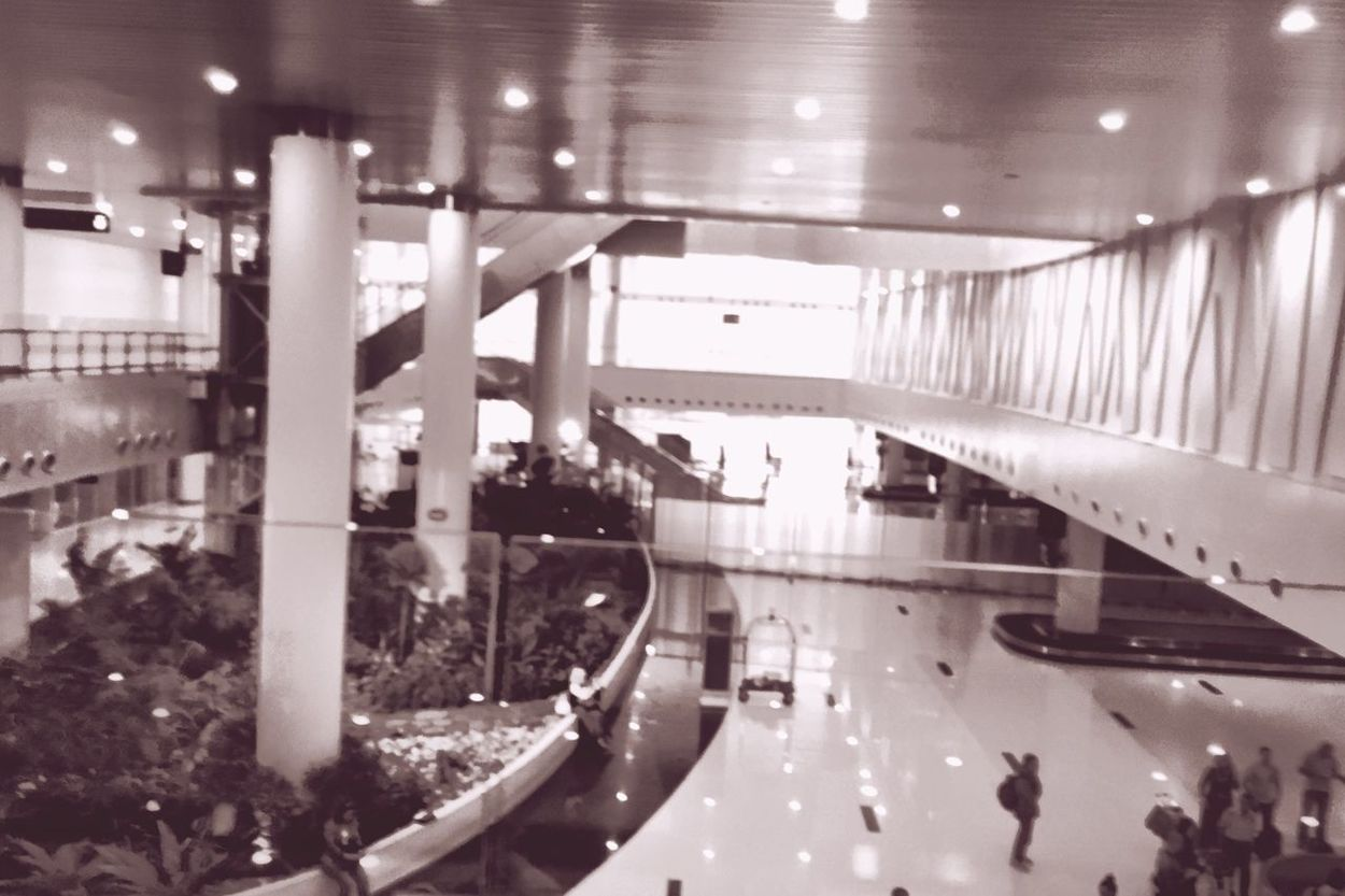 International Airport in Airport Waiting For Bagage Boarding Iphonesia IPhoneography Iphone6