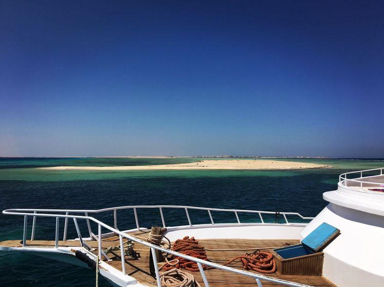 Hurgada, Egypt Yacht Island Beach