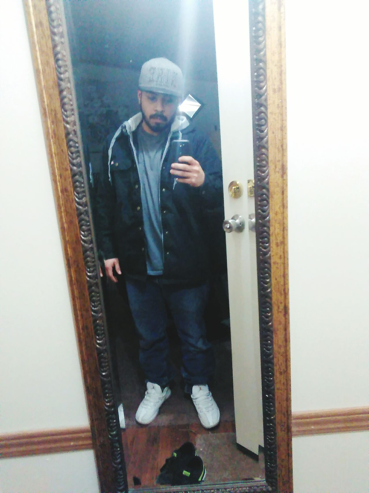 Thats Me  Mexican Only For Woman Nike✔ Gray Black White Mirror Picture Reflection Mirror Jordans Mexican GUCCI Young Man Chilling Hmu Hello World High Check This Out EyeEm Best Shots EyeEm Gallery