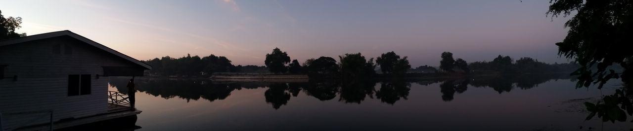 Morning Water Reflections River Kwai River View Enjoying Nature Nature Taking Photos Cool
