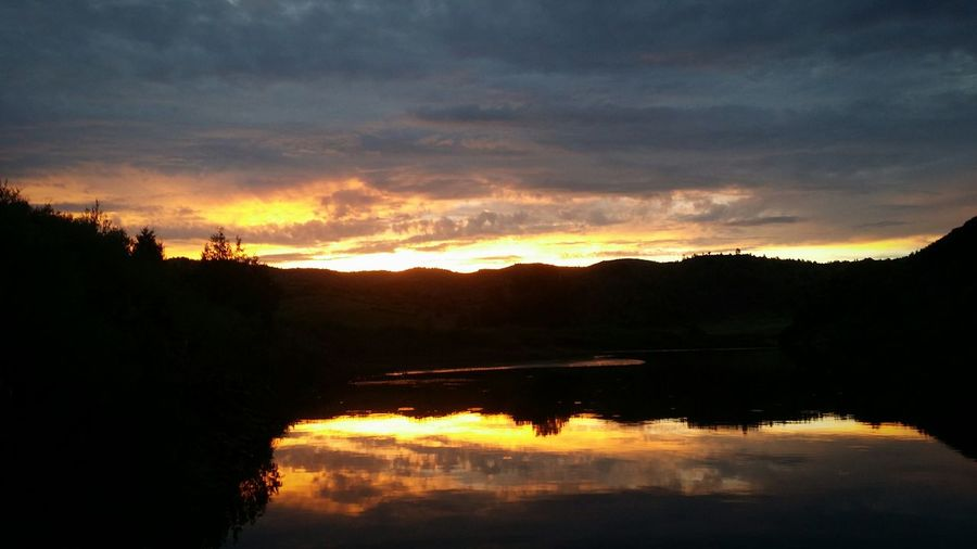Breathing Space Sunsational!! Sunset_collection Sunset Tranquility Reflection Ever Changing Canvas Of The Sky Nature Colorado sunset Sunset On The Rockies