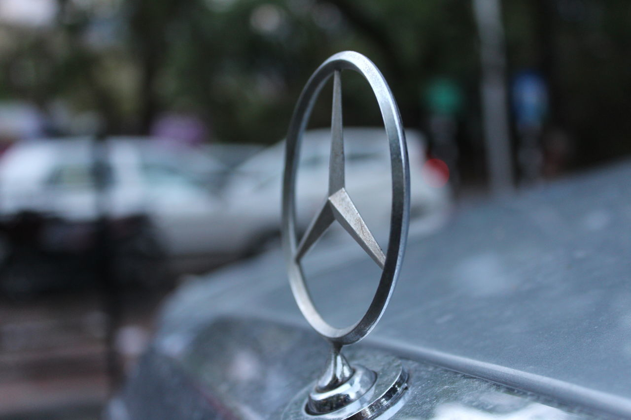 #car #logo #Mercedes Close-up Focus On Foreground Metal No People Outdoors