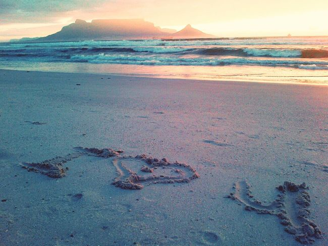 Tablemountain Best Boyfriend Beach Sunset