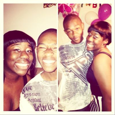 Me And My Bestfreind Petty At My Birthday Party